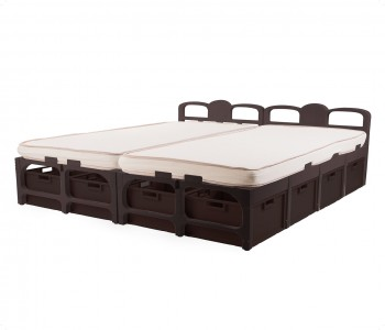 SDouble Bed/Drawers & Mattress