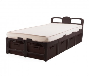 Ssingle Bed/Drawers & Mattress