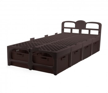 Samba single Bed(With Drawers)