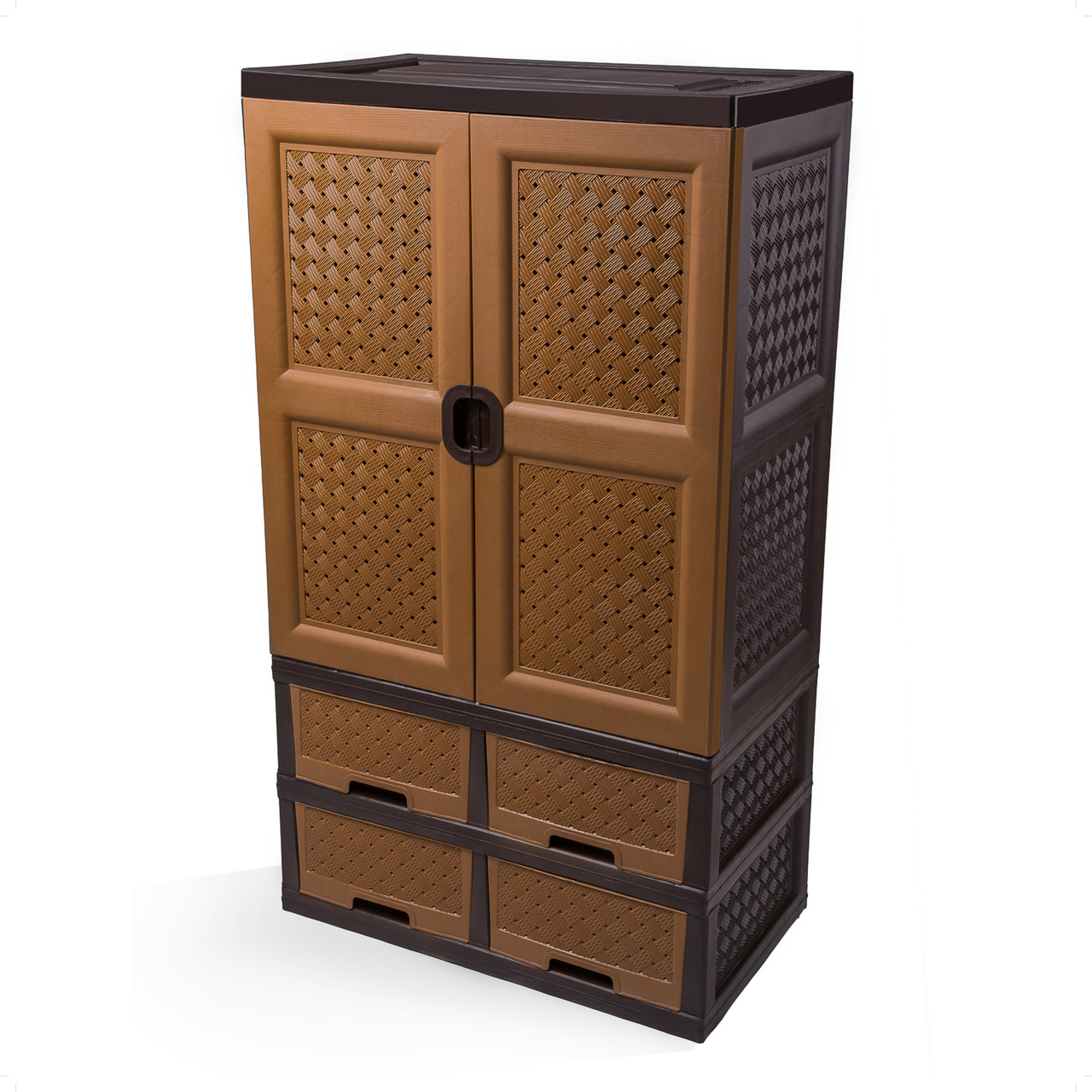 Classic wardrobe with four Drawers